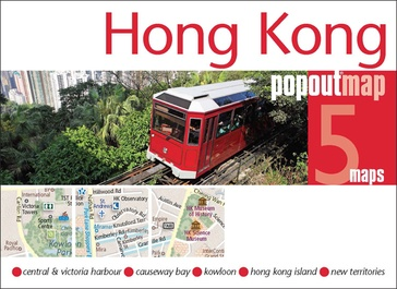 Stadsplattegrond Popout Map Hong Kong | Compass Maps