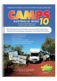 Campinggids - Campergids Camps Australia Wide 10 with Camp Snaps (B4) | Camps australia