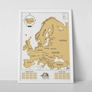 Scratch Map Europe - Europa Edition | Luckies