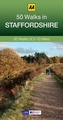 Wandelgids 50 Walks in  Staffordshire | AA