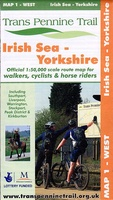 Trans Pennine Trail Map 1 West Irish Sea to Yorkshire