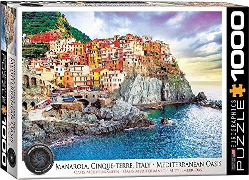Puzzel Cinque Terre, Italië cover