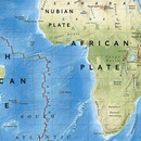 Wereldkaart Dynamic earth plate tectonics, 92 x 61 cm | National Geographic