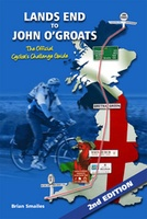 Fietsgids Lands End to John O'Groats (2nd Edition) The Official Cycllist's Challenge Guide | Challenge Publications