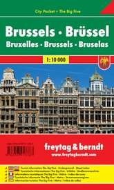 Stadsplattegrond City Pocket Brussel | Freytag & Berndt