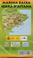 Wandelkaart Marina Baixa - Serra d'Aitana, Costa Blanca mountains west | Editorial Piolet