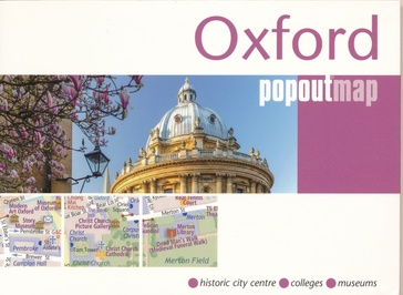 Stadsplattegrond Popout Map Oxford  | Compass Maps