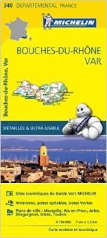 Wegenkaart landkaart 340 bouches du rhone var for Ca bouche du rhone