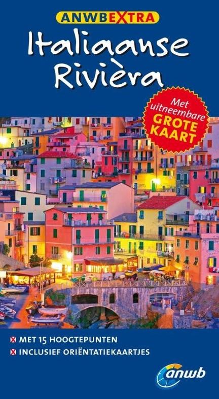 ANWB extra reisgids Italiaanse Riviera | ANWB Media | vanaf €10,95