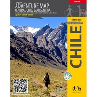 Adventure Map Central Chile & Argentina