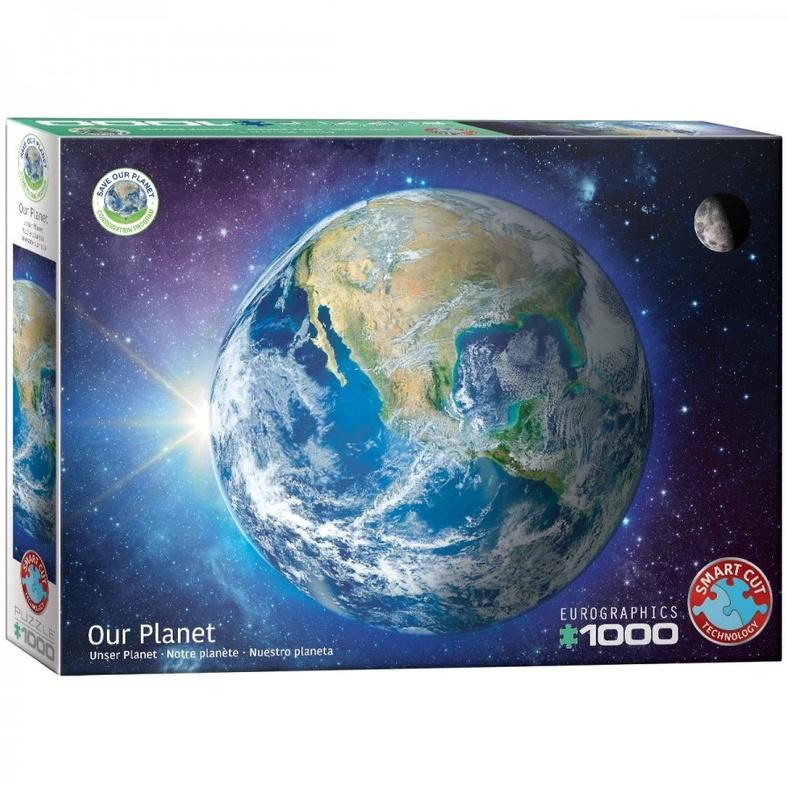 Puzzel planeet (1000 stukjes) cover