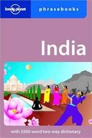 Woordenboek Taalgids India phrasebook - Hindi | Lonely Planet