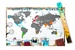 Scratch Map Scrape Map World Edition Deluxe | Scrape Map