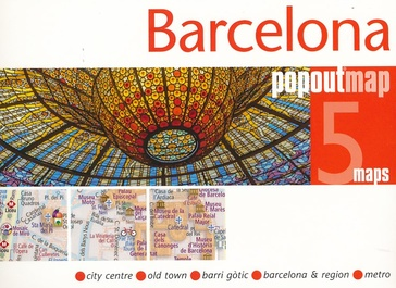 Stadsplattegrond Popout Map Barcelona | Compass Maps