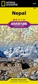 Wegenkaart - landkaart 3000 Adventure Map Nepal | National Geographic