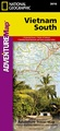 Wegenkaart - landkaart 3016 Adventure Map Vietnam south - Zuid | National Geographic