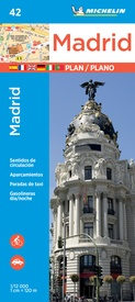 Stadsplattegrond 42 Madrid | Michelin
