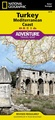 Wegenkaart - landkaart 3019 Adventure Map Turkey Mediterranean Coast Turkije | National Geographic