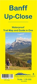 Wandelkaart 11 Banff Up-Close | Gem Trek Maps