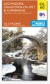 Wandelkaart - Topografische kaart OL60 Explorer Lochindorb, Grantown-on-Spey, Carrbridge | Ordnance Survey