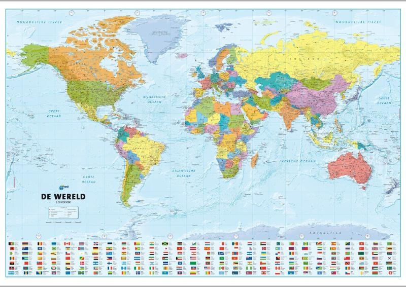Wereldkaart 76 anwb de wereld 140 x 80 cm anwb media wereldkaart 76 anwb de wereld 140 x 80 cm anwb media thecheapjerseys Images