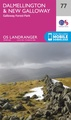 Wandelkaart - Topografische kaart 077 Landranger  Dalmellington & New Galloway, Galloway Forest Park | Ordnance Survey