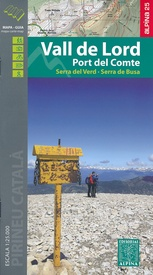 Wandelkaart Vall de Lord - Port del Comte | Editorial Alpina