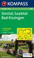 Wandelkaart 464 Sinntal-Saaletal-Bad Kissingen | Kompass