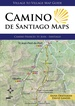 Wandelkaart Camino de Santiago Maps, | Village to Village Press