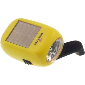 Zaklamp Kao Baby Swing Solar Flashlight Geel | Rubytec