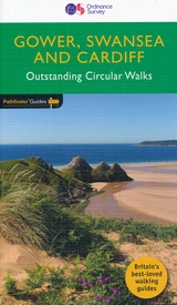 Wandelgids 55 Pathfinder Guides Gower, Swansea and Cardiff | Ordnance Survey