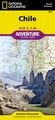 Wegenkaart - landkaart 3402 Adventure Map Chile - Chili | National Geographic
