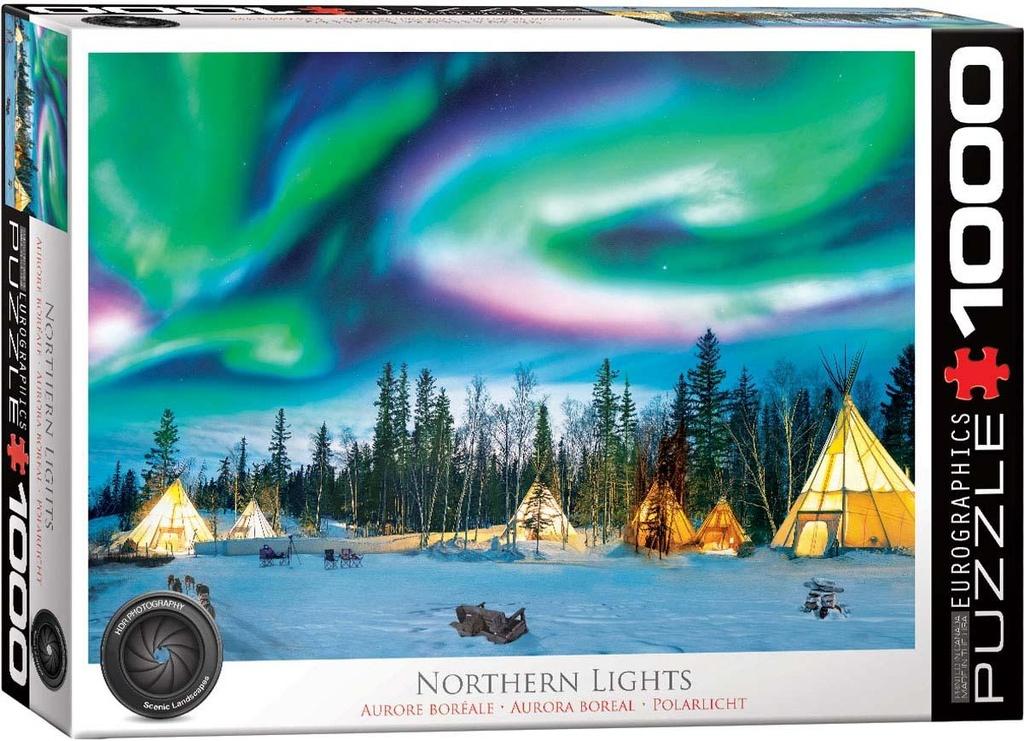 Puzzel Noorderlicht (1000 stukjes) cover