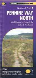 Wandelkaart Pennine Way North | Harvey Maps