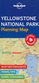 Wegenkaart - landkaart Planning Map Yellowstone National Park | Lonely Planet
