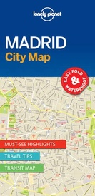 Stadsplattegrond City map Madrid | Lonely Planet