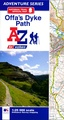Wandelatlas Adventure Atlas Offa's Dyke Path | A-Z Map Company