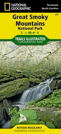 Wandelkaart 229 Great Smoky Mountains National Park | National Geographic