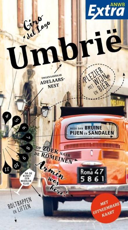 ANWB reisgids extra Umbrië - Umbrie | ANWB Media | €12,99