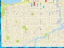 Stadsplattegrond City map Chicago | Lonely Planet