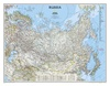 Wandkaart Russia – Rusland, 77 x 60 cm | National Geographic