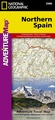 Wegenkaart - landkaart 3306 Adventure Map Spain Northern - Noord Spanje | National Geographic