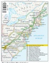 Wandelgids 1508 Topographic Map Guide Appalachian Trail – Delaware Water Gap to Schaghticoke Mountain | National Geographic