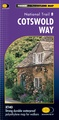 Wandelkaart Cotswold Way | Harvey Maps
