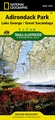 Wandelkaart - Topografische kaart 743 Trails Illustrated Adirondack Park - Lake George - Great Sacandaga | National Geographic