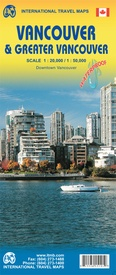 Stadsplattegrond Vancouver & Greater Vancouver | ITMB