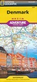 Wegenkaart - landkaart Adventure Travel Map Denmark - Denemarken | National Geographic