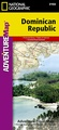 Wegenkaart - landkaart 3102 Adventure Map Dominican Republic | National Geographic