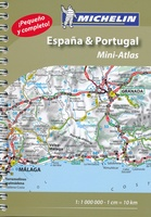 Spanje - Portugal mini atlas