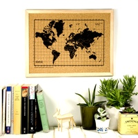 World Map Corkboard (Small)